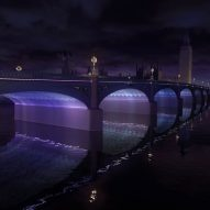 Lifschutz Davidson Sandilands and Leo Villareal win London bridge light contest