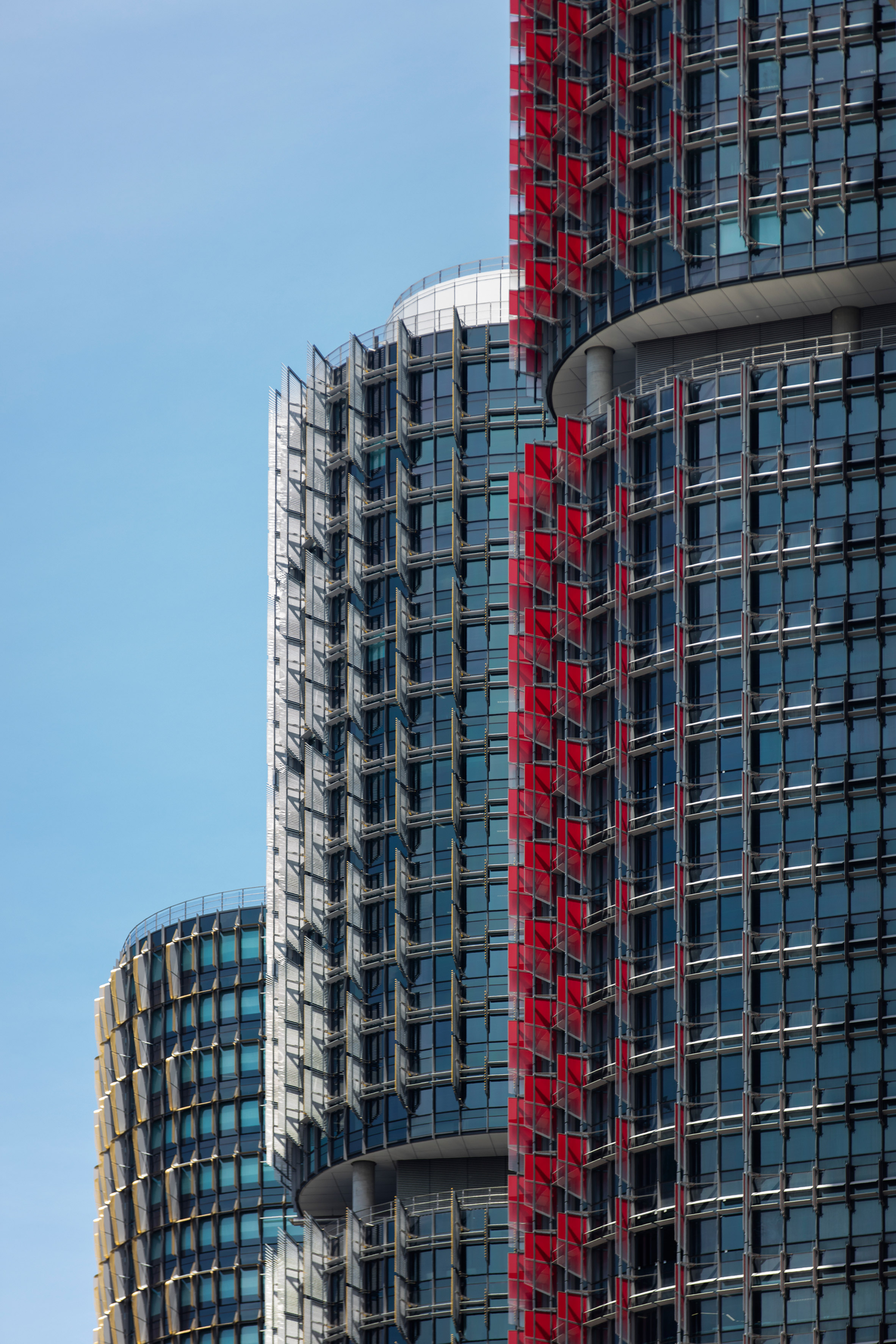 Rogers Stirk Harbour completes skyscraper trio on Sydney's Barangaroo waterfront
