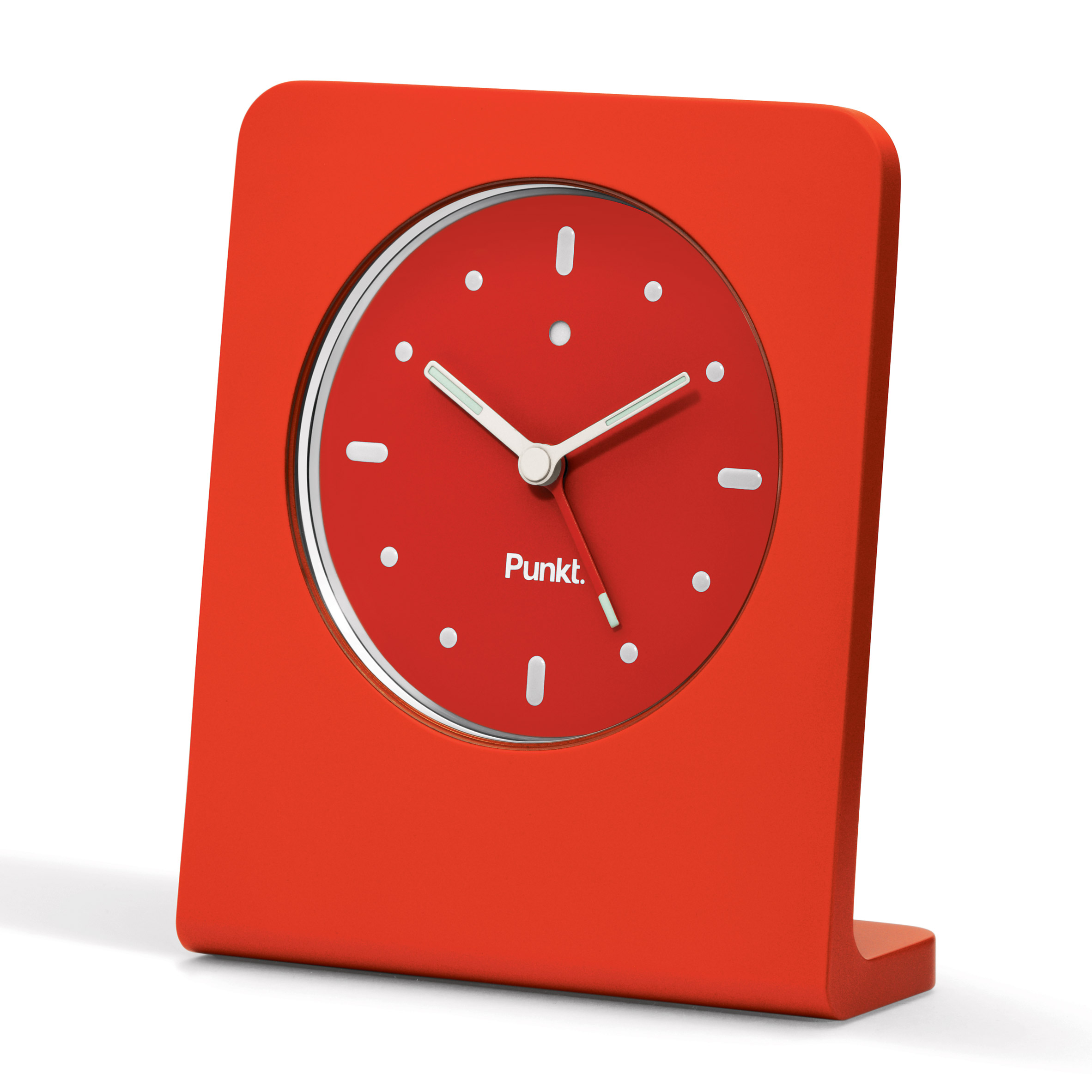 clock design  dezeen - competition win a jasper morrisondesigned punkt alarm clock