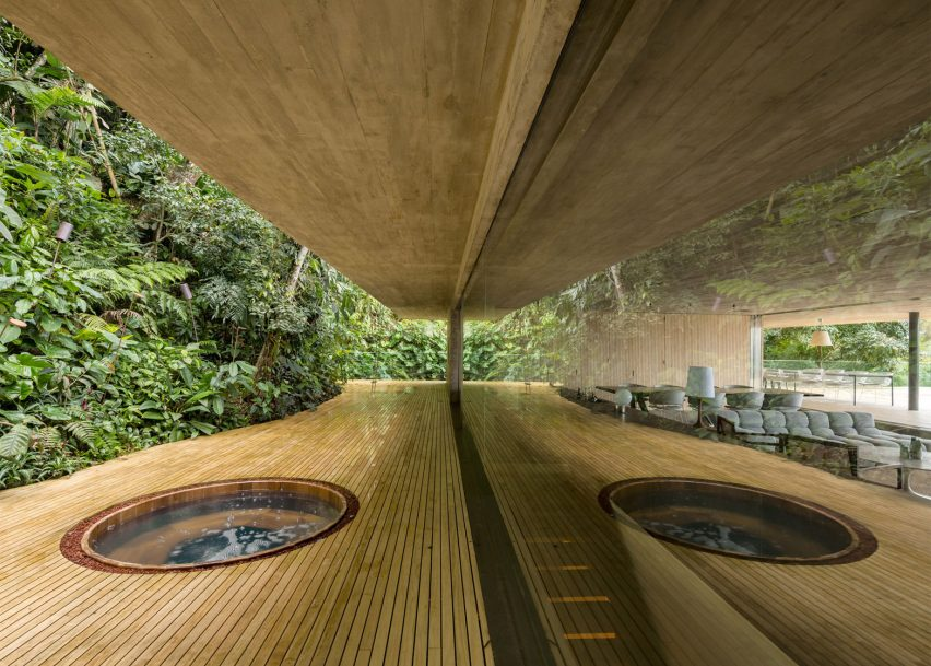 Dezeen's top 10 houses of 2016 on rain england, amazon house, seashore house, hibiscus house, black house, rain nature, island house, rain cabin, science house, mango house, lavender house, tree house, cherry house, lime house, photography house, rain california, zoo house, rain new york, weather house, navy house,