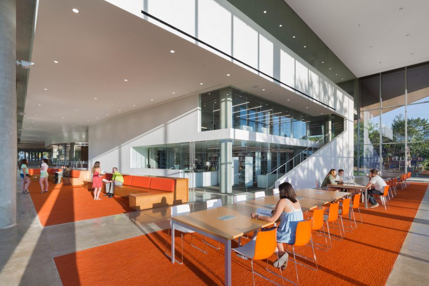 Kent State arch school by Weiss Manfredi