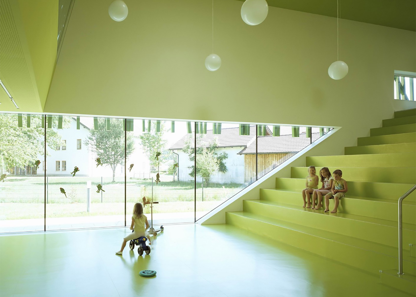 Kindergarten Sighartstein by Kadawittfeldarchitektur