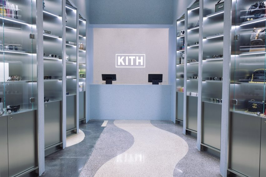 Snarkitecture Designs Kiths Gallery Like Miami Flagship Store
