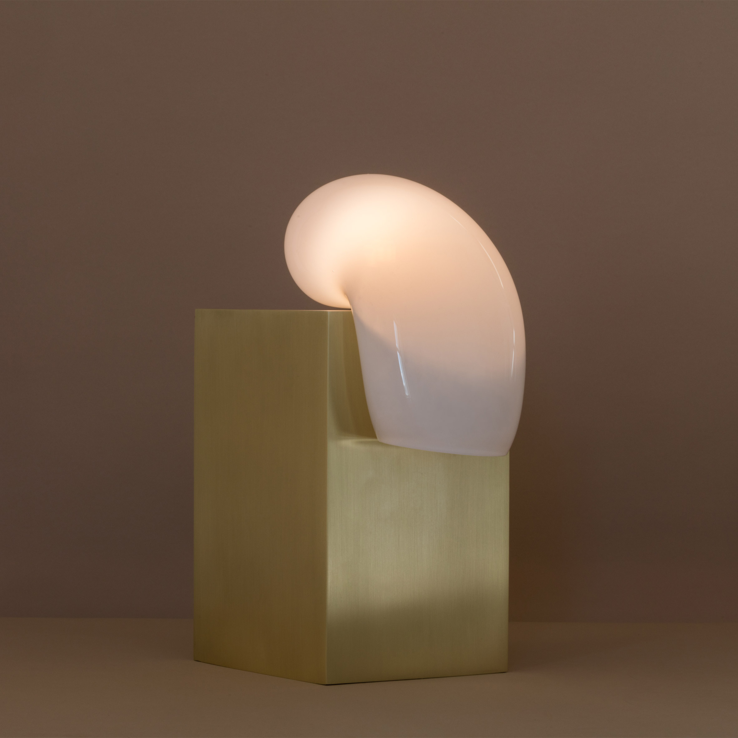 Lindsey Adelman's Catch lights ooze over brass bases