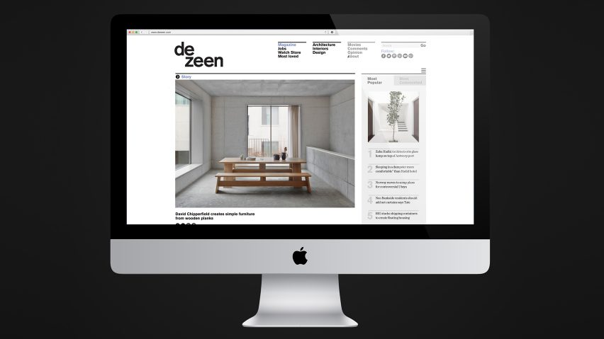 dezeen is officially the worldu0027s most popular online design magazine