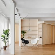 Bajet Giramé Architects reconfigures 1970s Barcelona apartment for retired couple