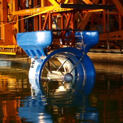 Smart Hydro Power's floating turbines