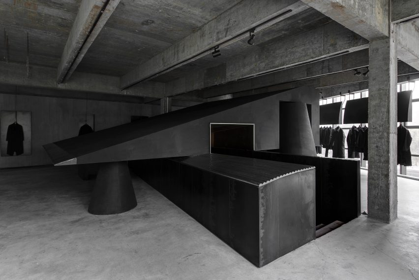 AN Design's interior for the Heike concept store in Hangzhou