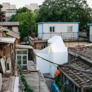 People's Architecture Office uses prefabricated panels to update Beijing hutong house