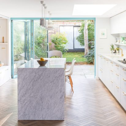 Renovated house in Stoke Newington by Freehaus