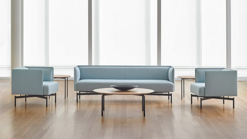 New Collection by Charles Pollock and Bernhardt Design NY Showroom