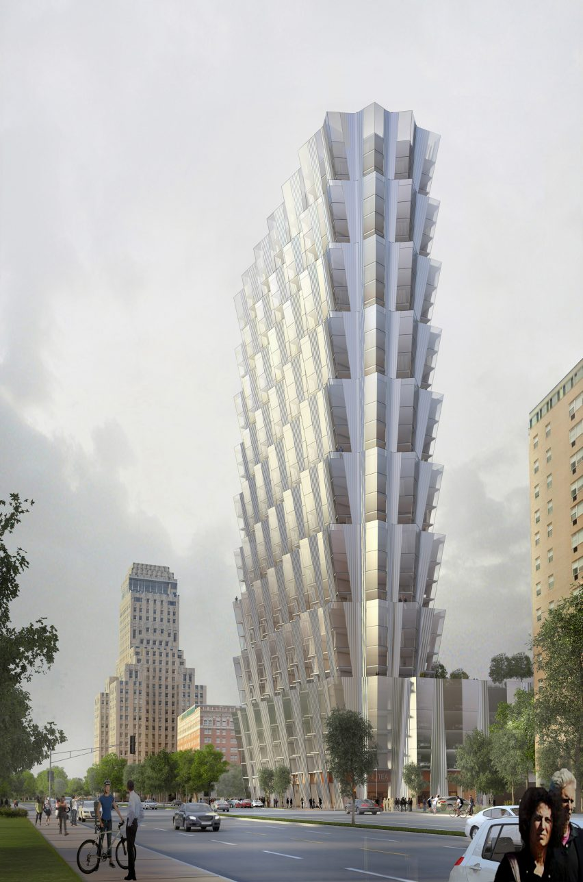 One Hundred tower by Studio Gang
