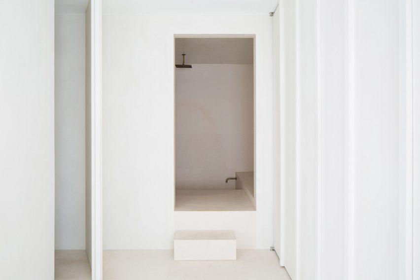 Hans verstuyft converts s antwerp office into minimal penthouse