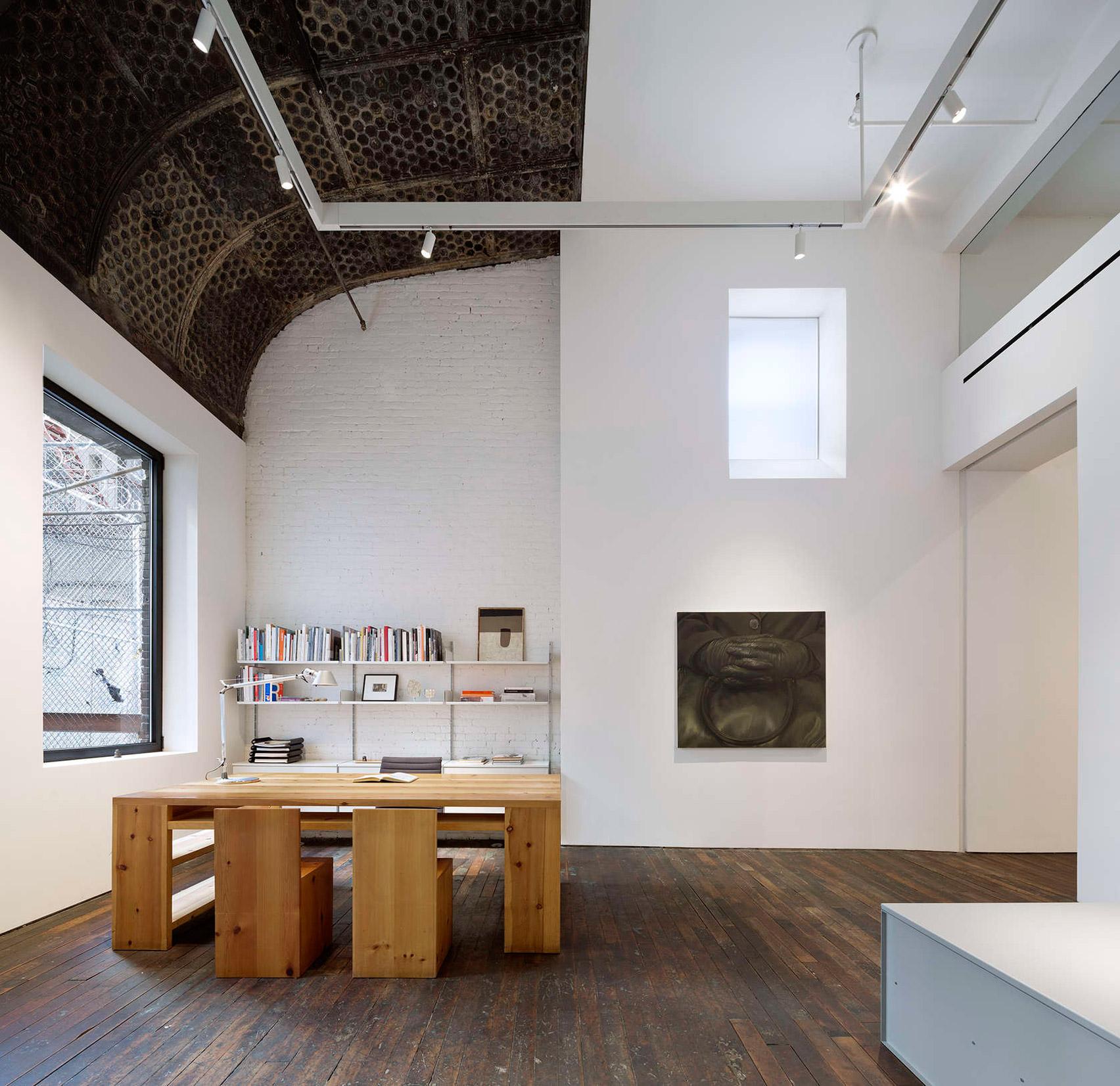 Toshiko Mori and Hirsch Corti turn label-making factory into Peter Freeman Gallery
