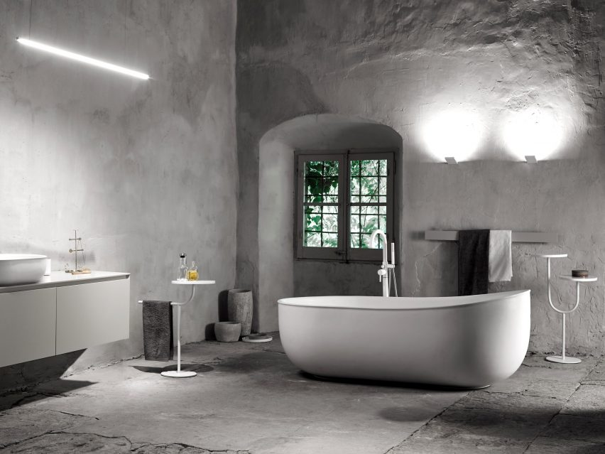Prime bathroom line by Norm Architects for Inbani