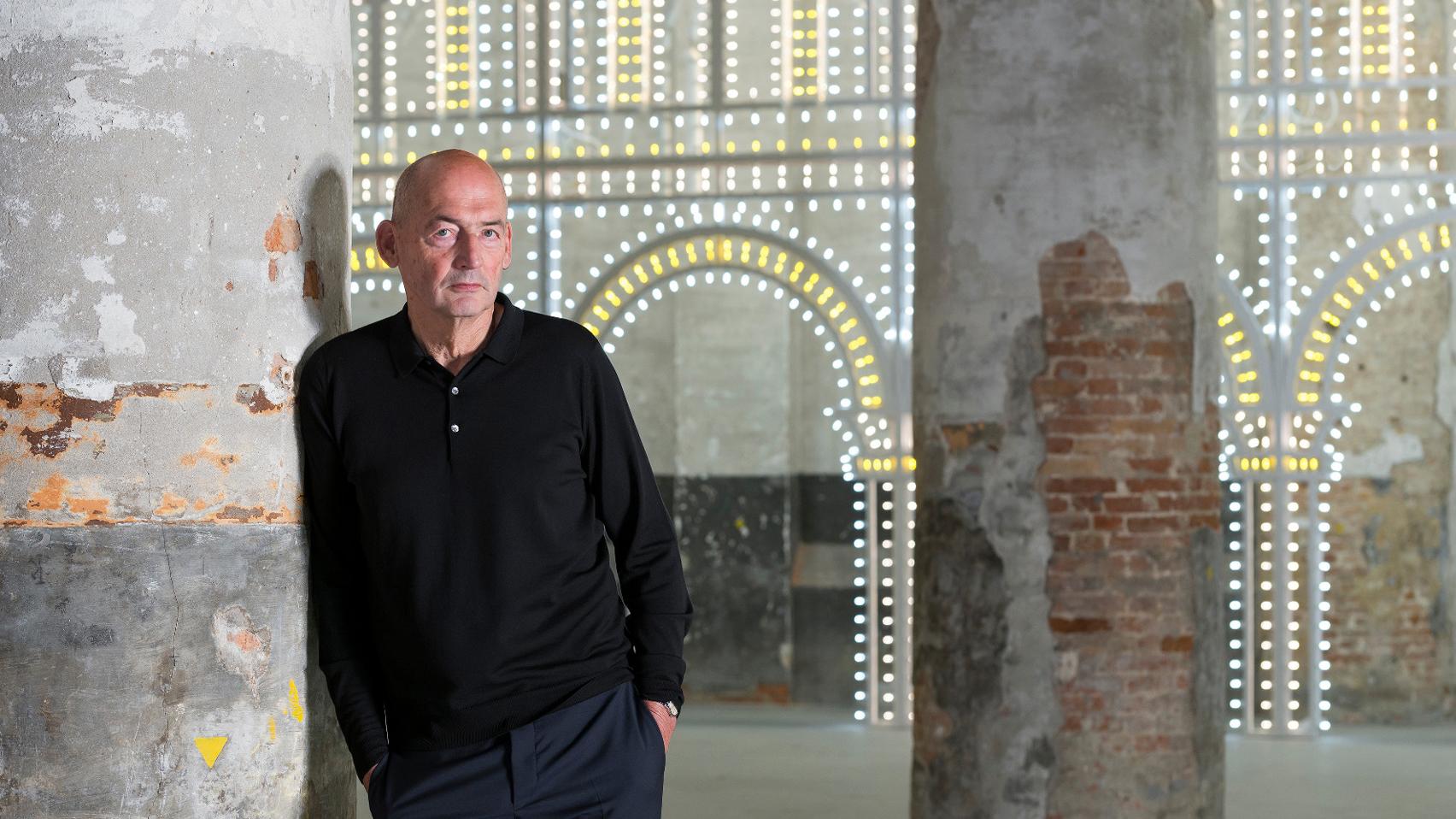 "Drastic change as a result of coronavirus is ""wishful thinking"" says Rem Koolhaas"
