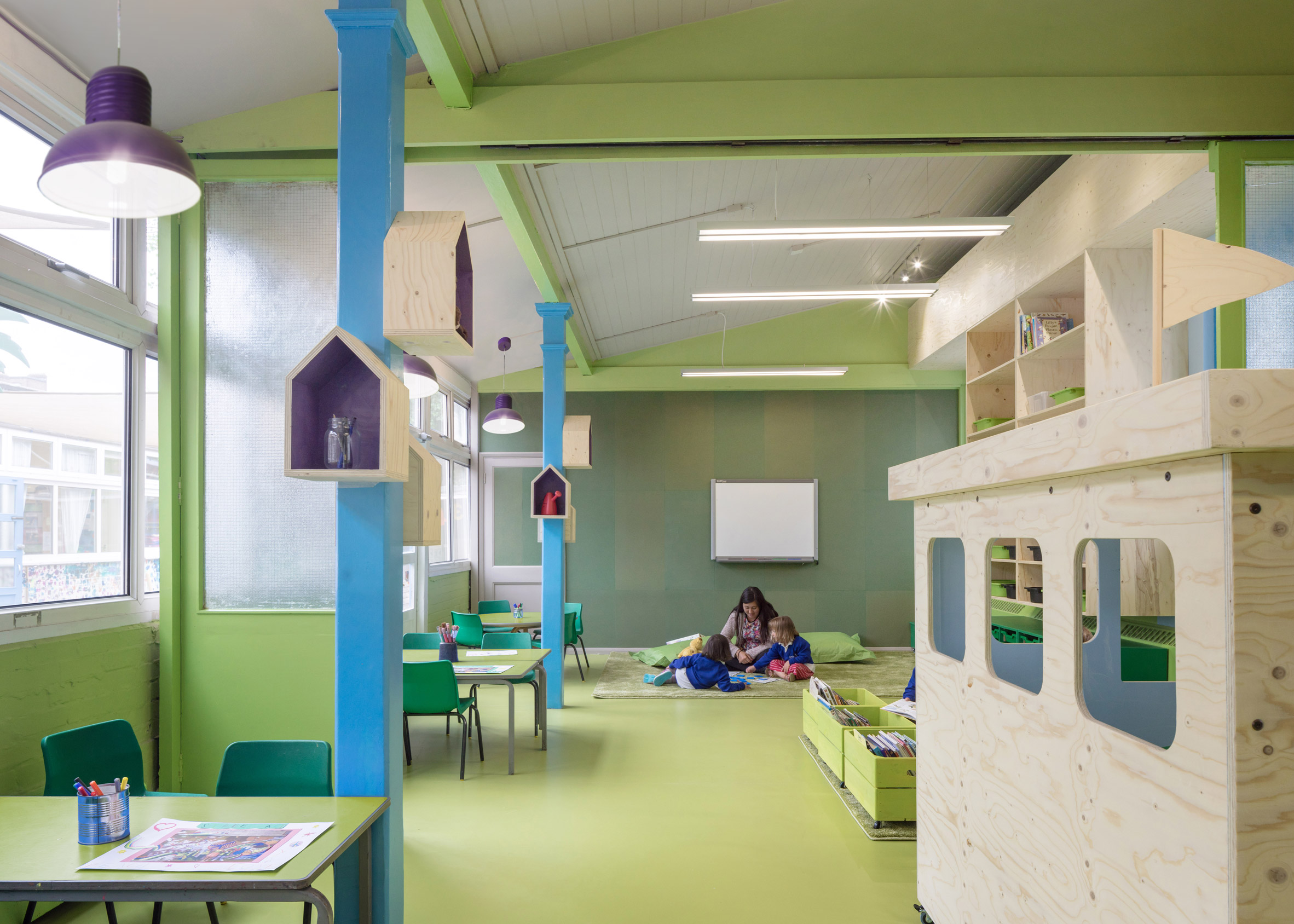 Rosemary Works Primary School by Aberrant Architecture