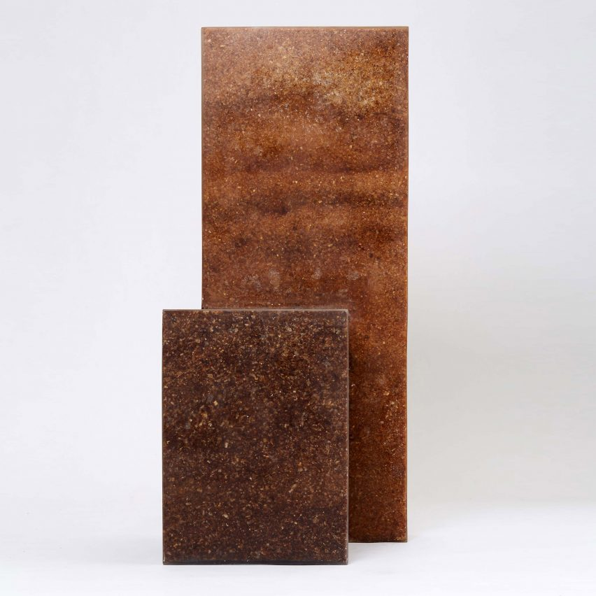 Sawdust and Resin chair by Oh Geon