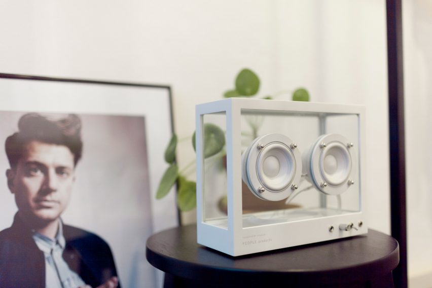 Small Transparent Speaker by People People