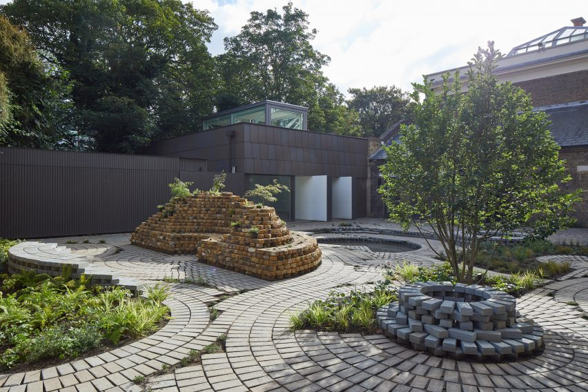 South London Gallery Garden by Gabriel Orozco