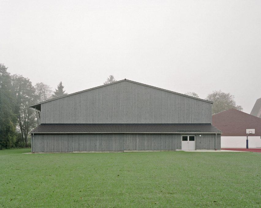 Sports Hall Haiming by Almannai Fischer