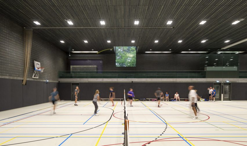 Sportscentre in Rotterdam by Koen van Velsen architects architecture netherlands