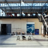 "Studio Roosegaarde converts Rotterdam glass factory into ""dream lab of the 21st century"""