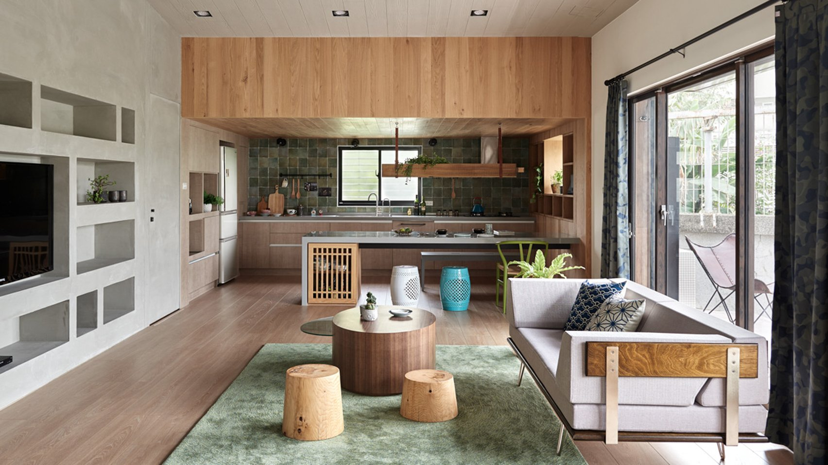 High Quality HAO Design Rearranges Taiwanese Home To Put Emphasis On The Garden