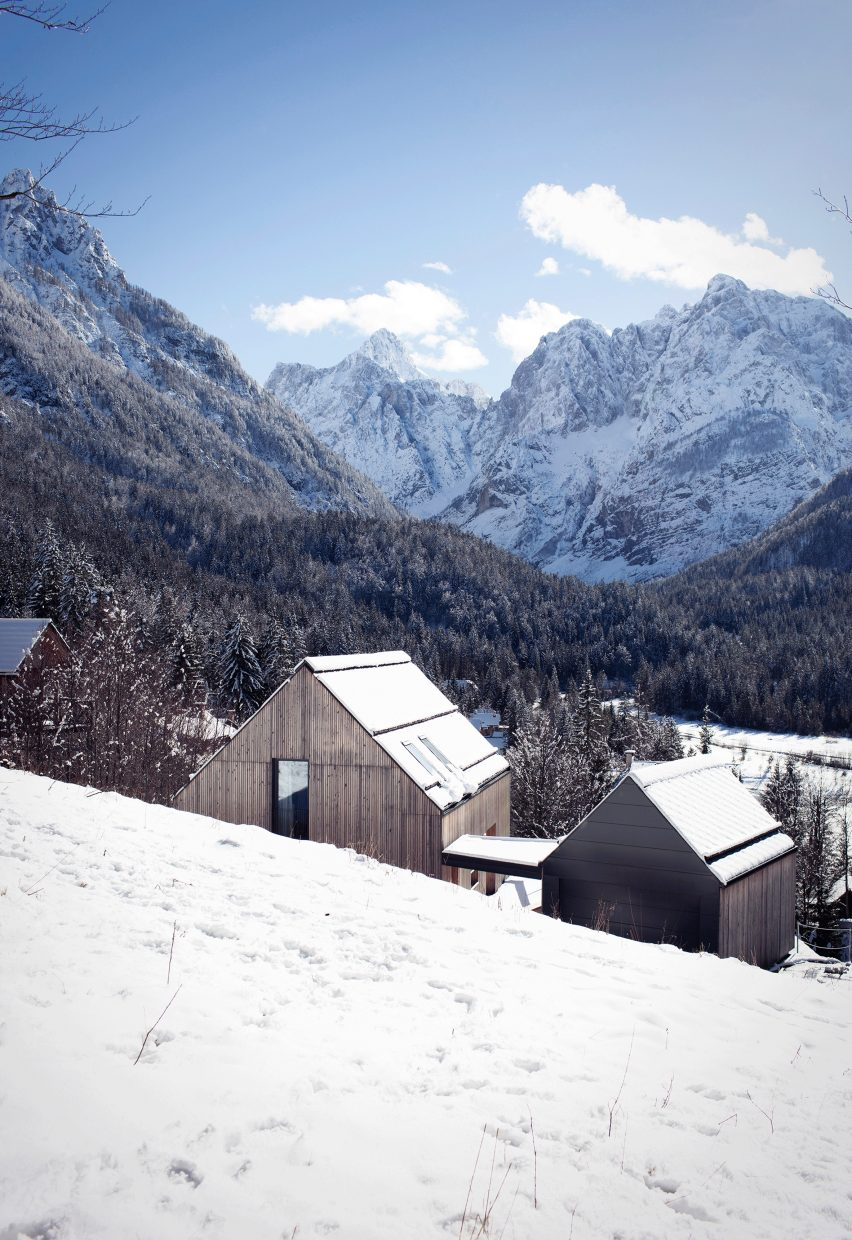 Vacation home in Kranjska Gora by Jernej Prijon and Vid Razinger