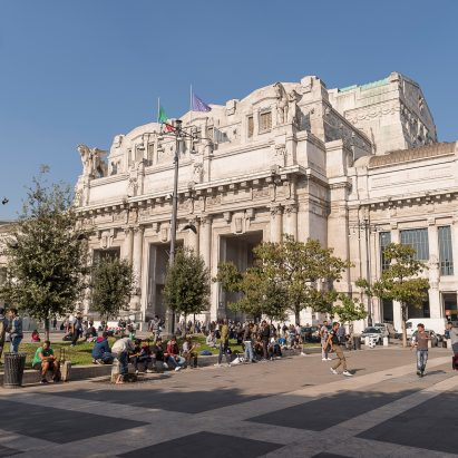 Ventura Centrale at Milan Central Station