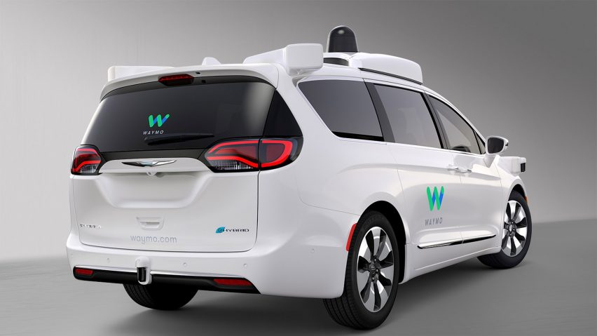 Waymo Chrysler self-driving car