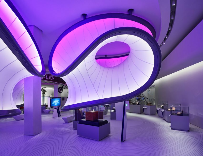 zaha hadid architects mathematics gallery opens at london science