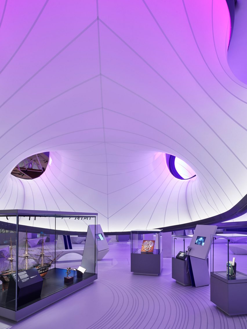 The Winton Gallery by Zaha Hadid Archtects