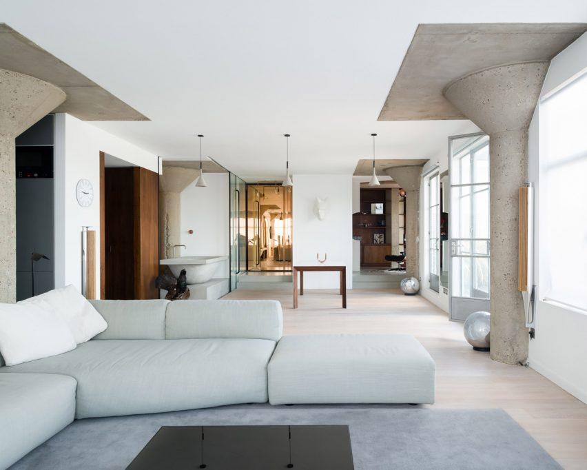 Ziggutat building by Thomas Klassnik residential interior