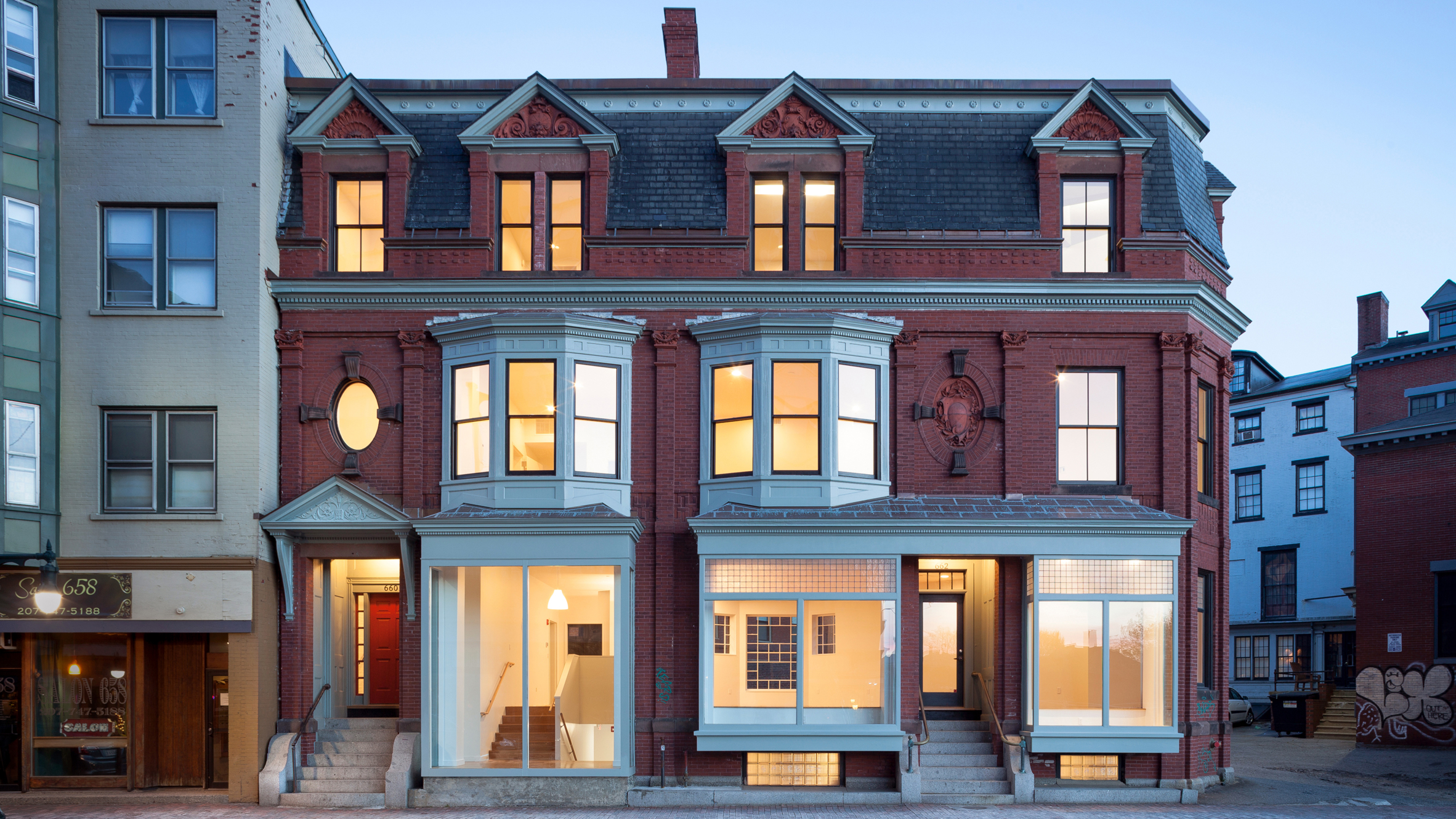 660 Congress Street by Present Architecture