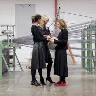 Bolon's creativity comes from the factory as well as the studio, say directors Annica and Marie Eklund