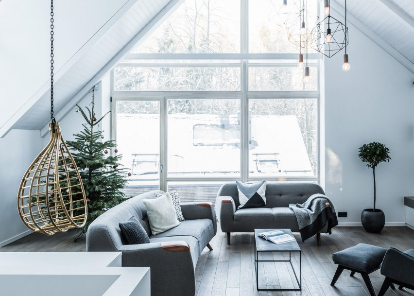 10 of the best monochrome home interiors from dezeen s pinterest boards rh dezeen com