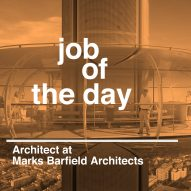 Job of the day: architect at Marks Barfield Architects