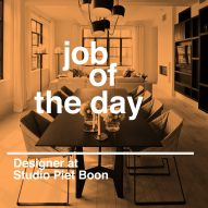 Job of the day: designer at Studio Piet Boon