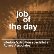 Job of the day: interiors/exhibitions specialist at Adjaye Associates