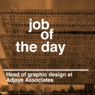 Job of the day: head of graphic design at Adjaye Associates