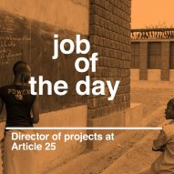 Job of the day: director of projects at Article 25
