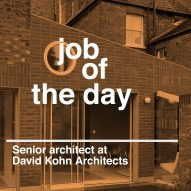 Job of the day: senior architect at David Kohn Architects