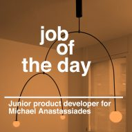 Job of the day: junior product developer for Michael Anastassiades
