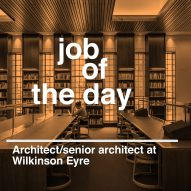 Job of the day: architect/senior architect at Wilkinson Eyre
