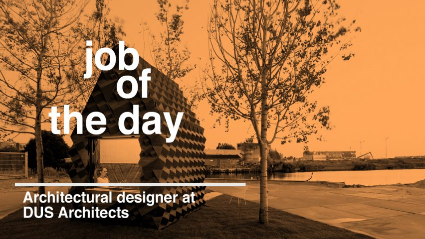 Job Of The Day: Architectural Designer At DUS Architects
