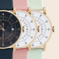 Squarestreet's Plano watch arrives at Dezeen Watch Store in new colour combinations