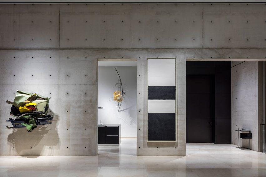 A concrete Composition by Studio de Lange