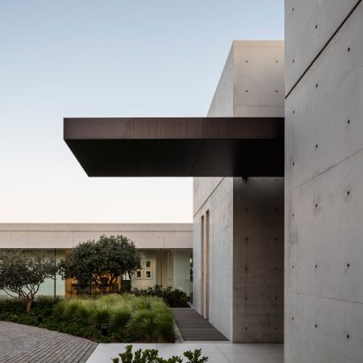 A concrete Composition by Studio de Lange