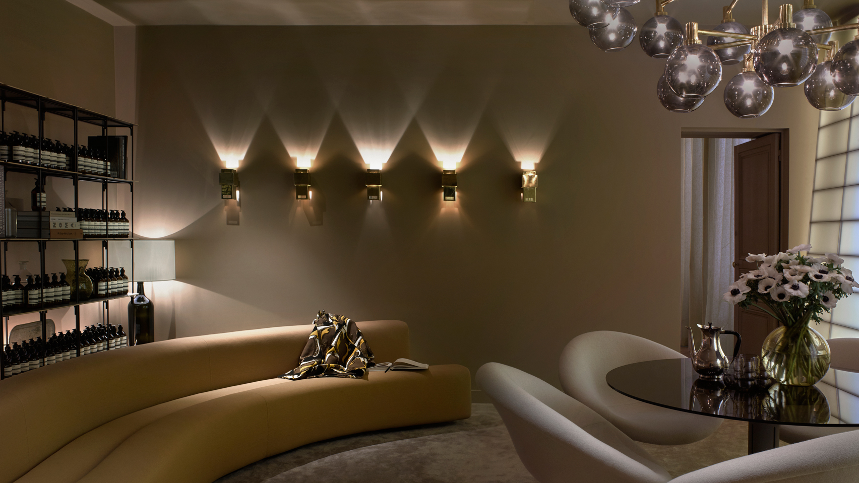 Ordinary Spa Interior Design Part - 6: Aesopu0027s Paris Offices Converted Into Temporary Treatment Rooms